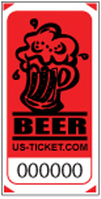 Premium Beer Drink / Bar Roll Ticket