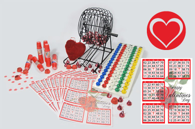 Valentines Day Bingo Kit
